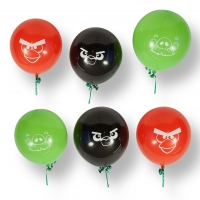 ANGRY BIRDS latex lufi, 6 db./csomag